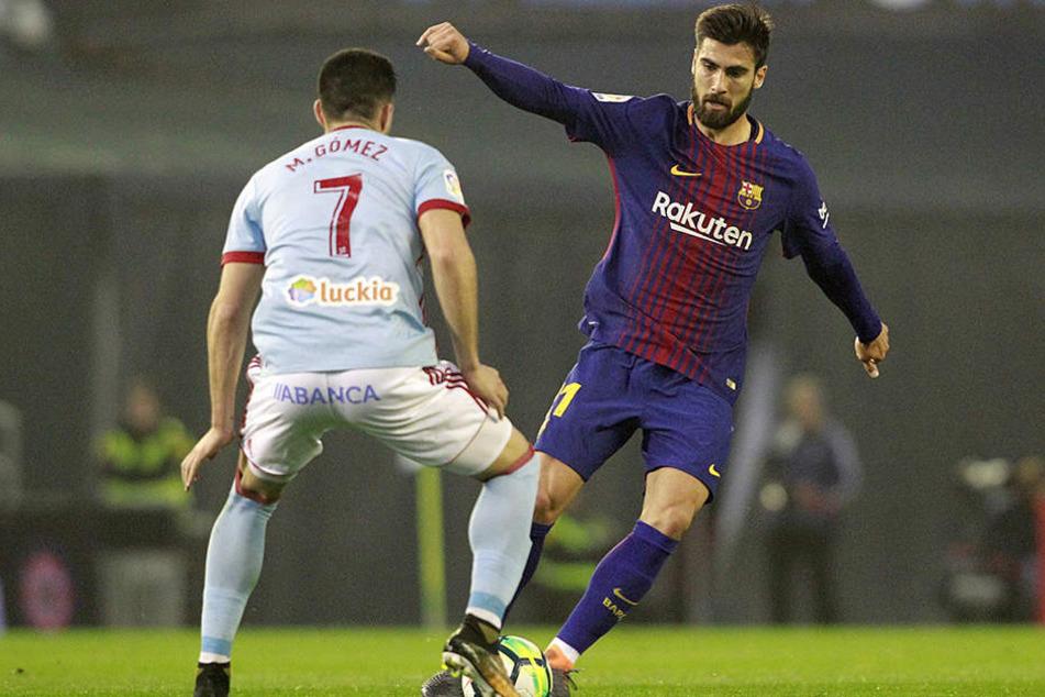 Wird für eine Saison vom FC Barcelona ausgeliehen: Mittelfeldspieler André Gomes.