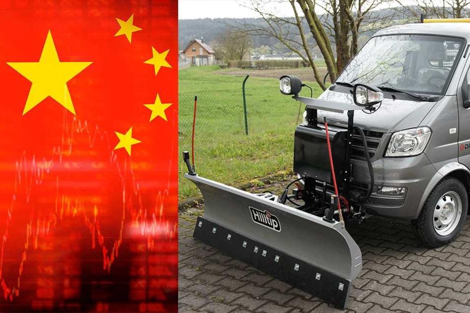 Fegen bald Chinesen den Schnee in Sachsen weg?