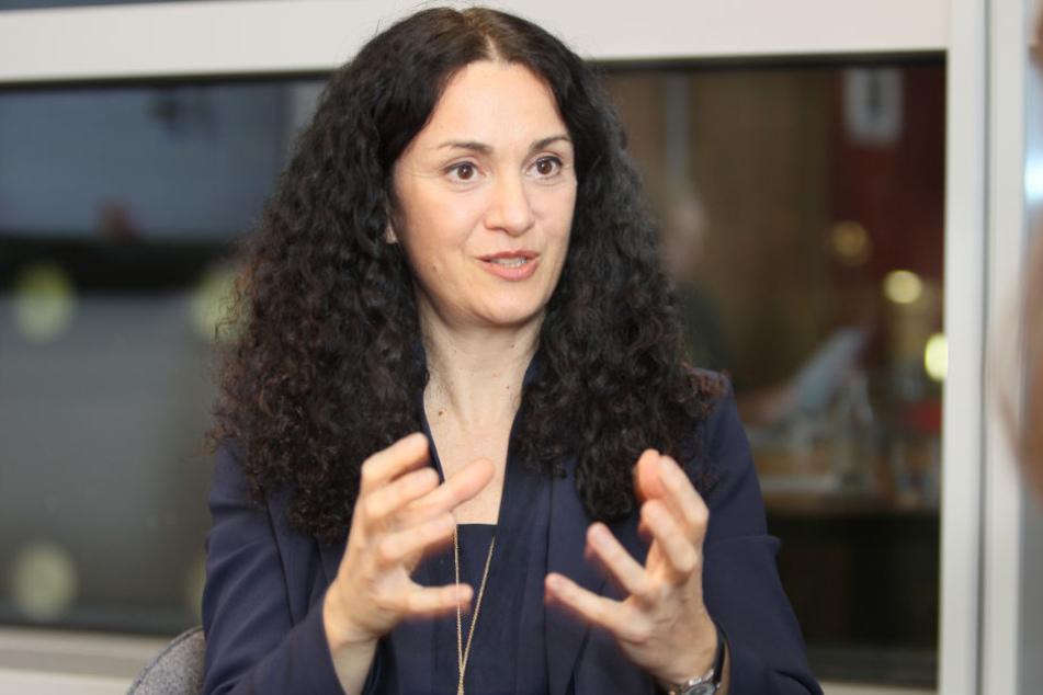 Alessandra Cama (50) ist Geschäftsführerin für die Bereiche Strategie und Unternehmensentwicklung sowie für Marketing und Vertrieb.