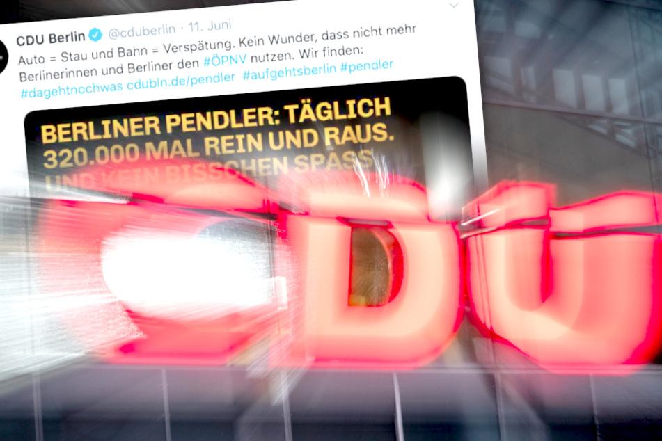 Geschmacklos oder humorvoll? Berlin-CDU empört mit pikantem Sex-Tweet