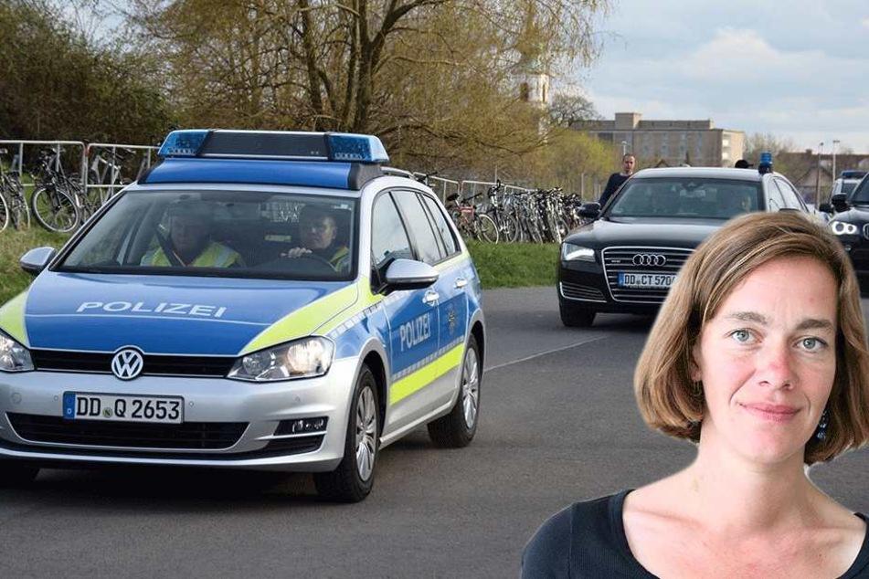 Weil Linken-Politikerin Julia Nagel keine Auskunft zum Wilders-Schutz bekam, hatte sie gegen Sachsens Innenminister geklagt.