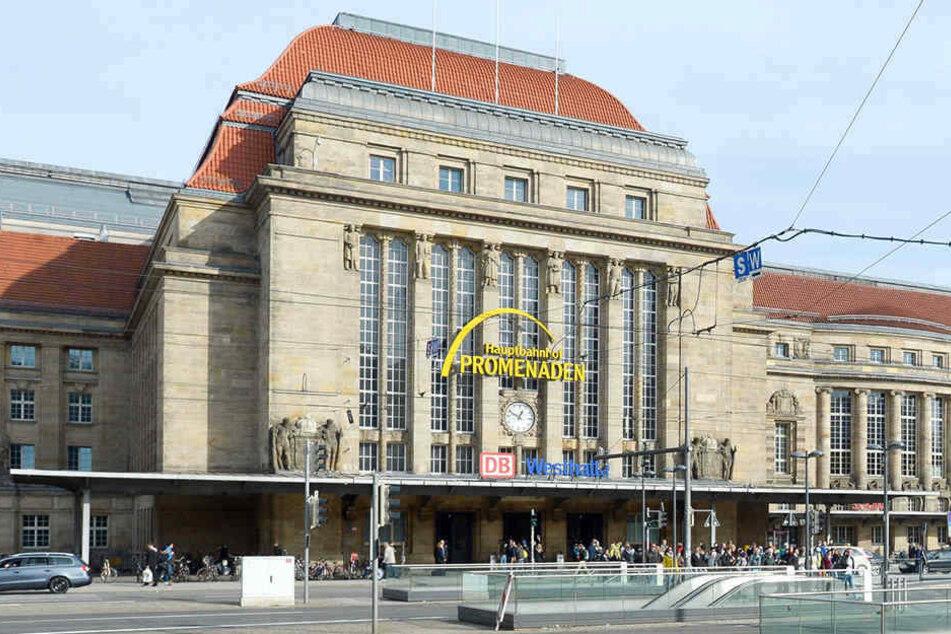 Am Leipziger Hauptbahnhof findet die Versteigerung von 13 bis 17 Uhr statt.