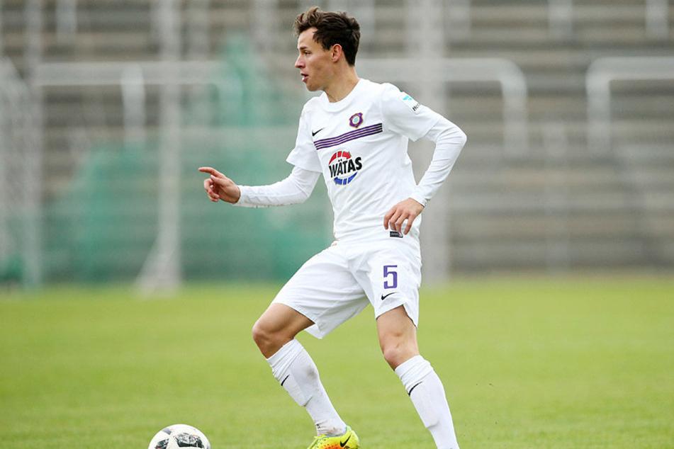Gegen St. Pauli kam Clemens Fandrich in dieser Saison erstmals zum Einsatz.