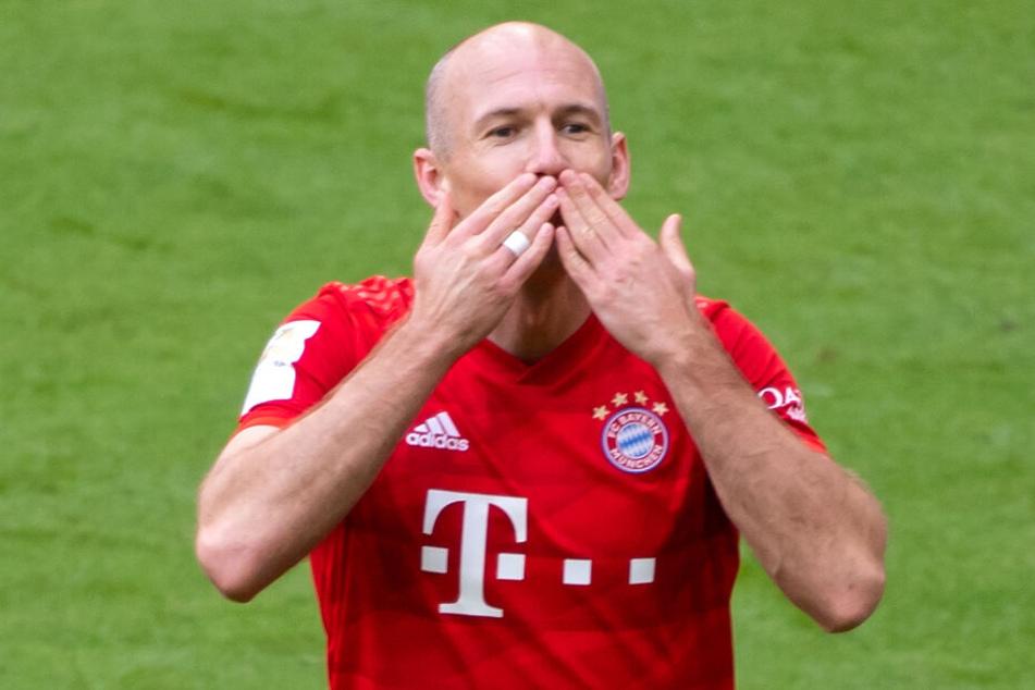 Arjen Robben trug zehn Jahre das Trikot des FC Bayern München.
