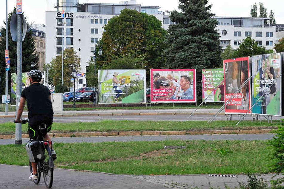 Top oder Flop? Chemnitzer Wahlplakate im Experten-Check