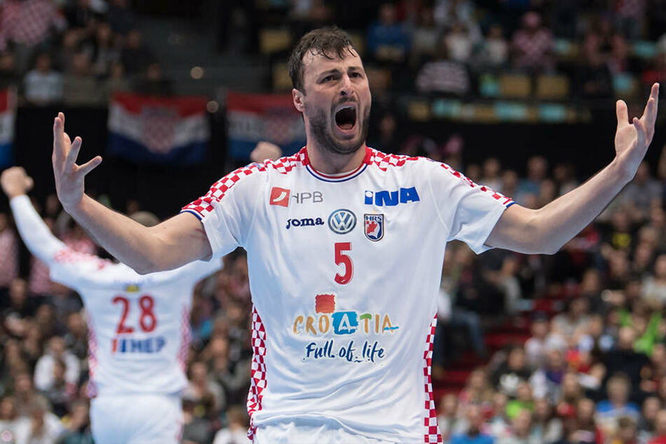 Zählt zu den besten Rückraumspielern der Welt: Kroatiens Kapitän Domagoj Duvnjak