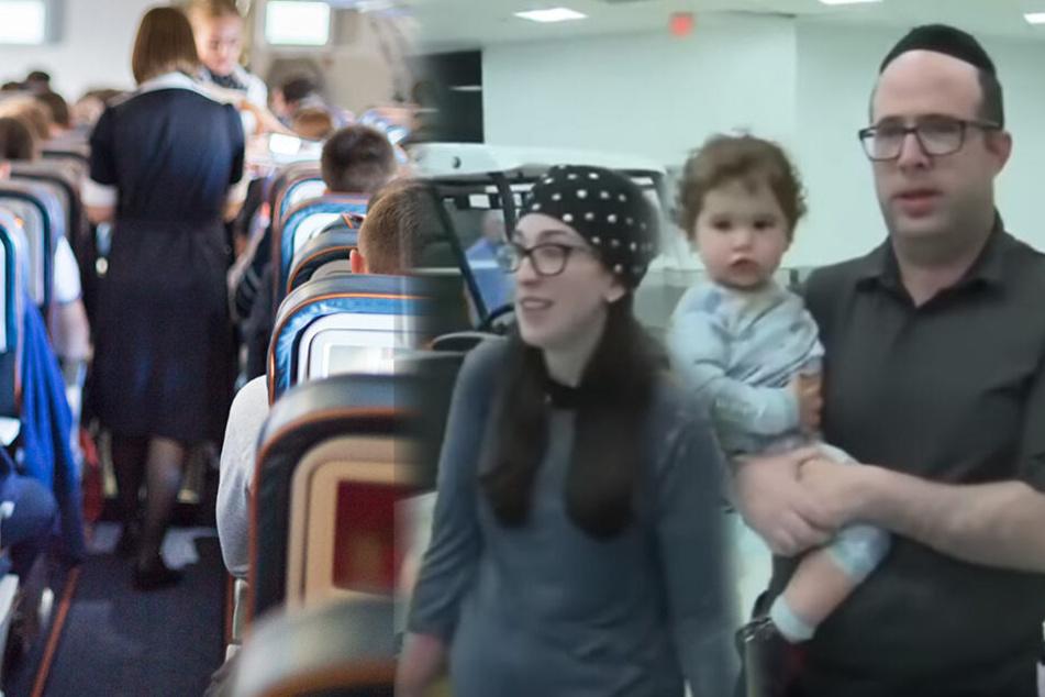 Familie mit Kleinkind wird aus Flugzeug geschmissen: Der Grund ist unfassbar