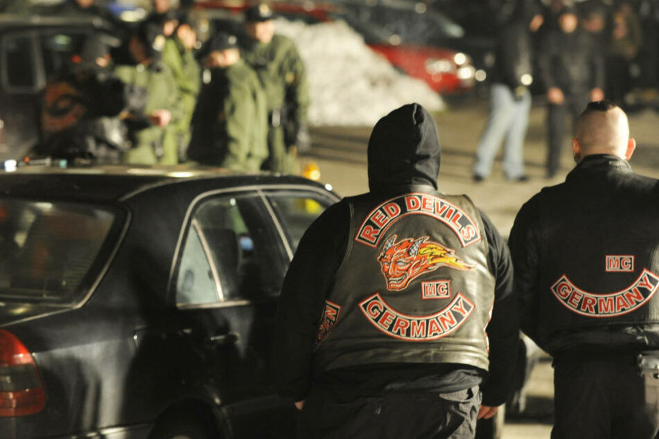 """Nach der Feier der Rocker Gruppe """"Red Devils"""" im Jahr 2010 gab es eine Messerstecherei. (Archivfoto)"""