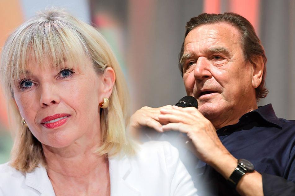 Heftige Vorwürfe: Ist Schröders Neue Schuld am Ehe-Aus mit Doris?