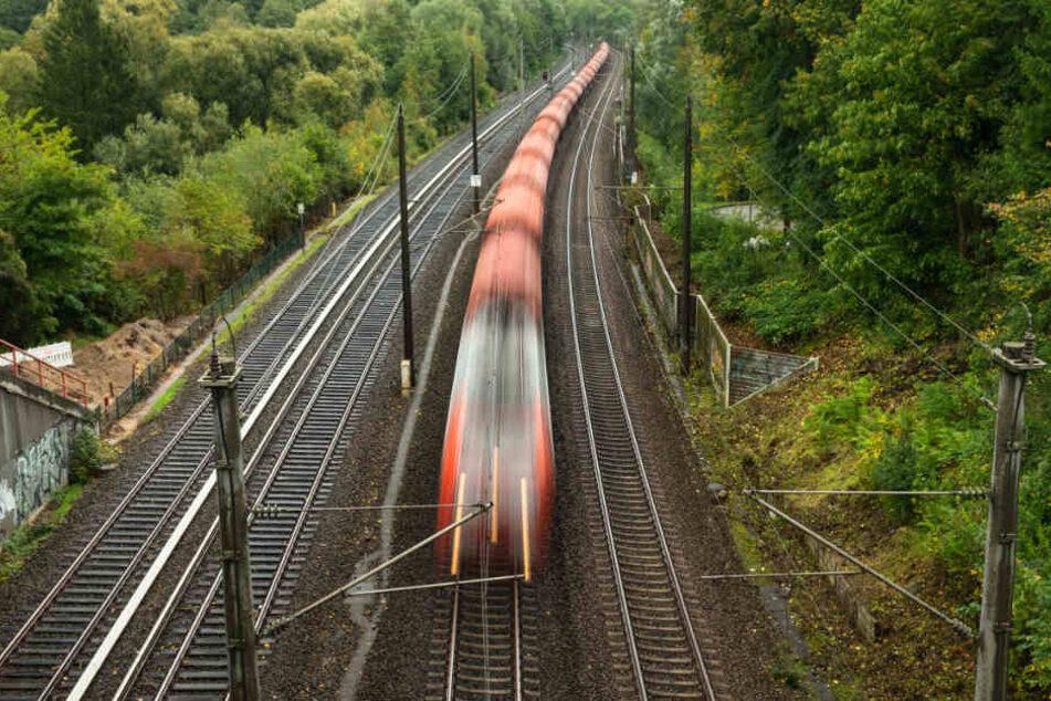 Der Zug konnte nicht weiterfahren. (Symbolbild)