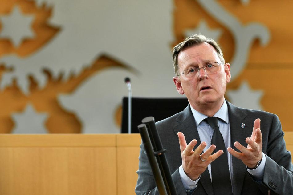 Bodo Ramelow ist auch in Zukunft Ministerpräsident von Thüringen.
