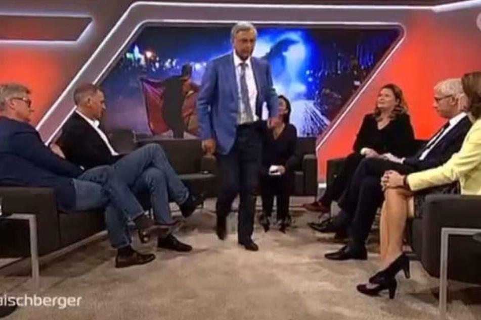 Wolfgang Bosbach verließ jüngst die Gesprächsrunde bei Sandra Maischberger in der ARD.