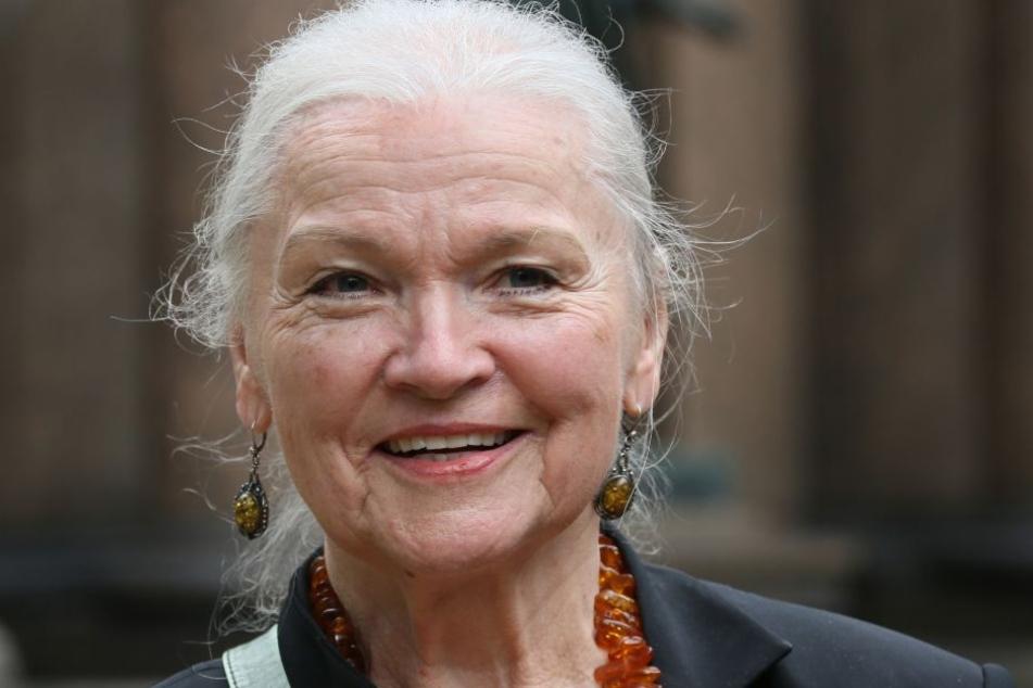 Die Lebensfreude strahlt aus ihr heraus: Malerin Eva-Maria Hagen (83).