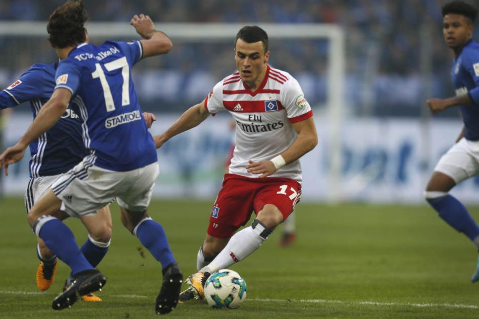Filip Kostic hat beim HSV noch einen Vertrag bis 2021.
