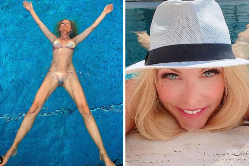 Sonya Kraus postet Bikini-Foto und erwartet Läster-Attacke, doch es kommt anders