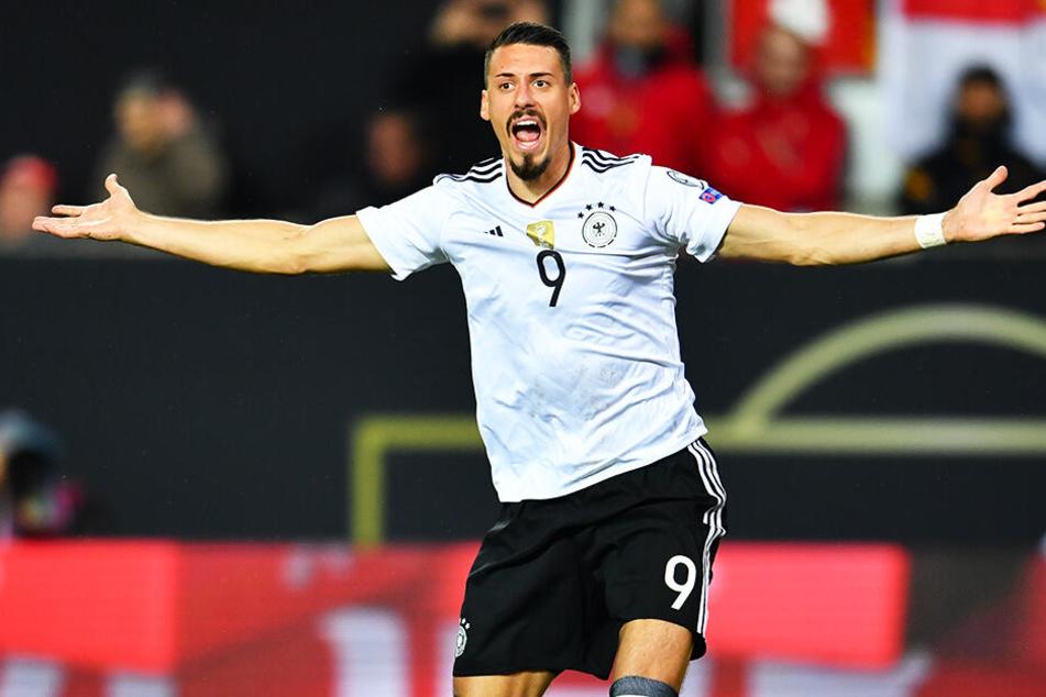Sandro Wagner absolvierte für die deutsche Nationalmannschaft acht Spiele und traf fünf Mal. Von dieser Quote ist er in China noch weit entfernt.