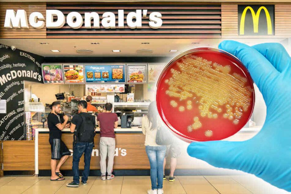 Schock-Studie: Kot-Spuren und Bakterien bei McDonald's entdeckt