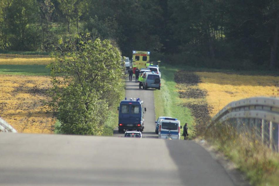 In einem Erfurter Vorort wurden am Mittwoch zwei Leichen gefunden.