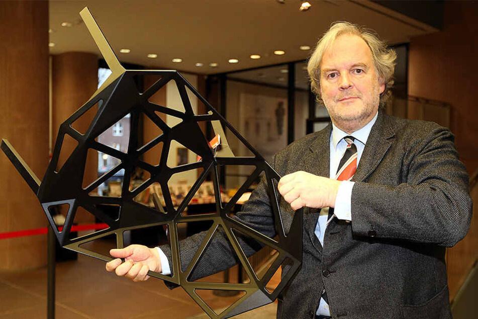 Kunsthallen-Direktor Friedrich Meschede sieht Stadt und Kunsthalle nicht mit gleicher Ausrichtung.