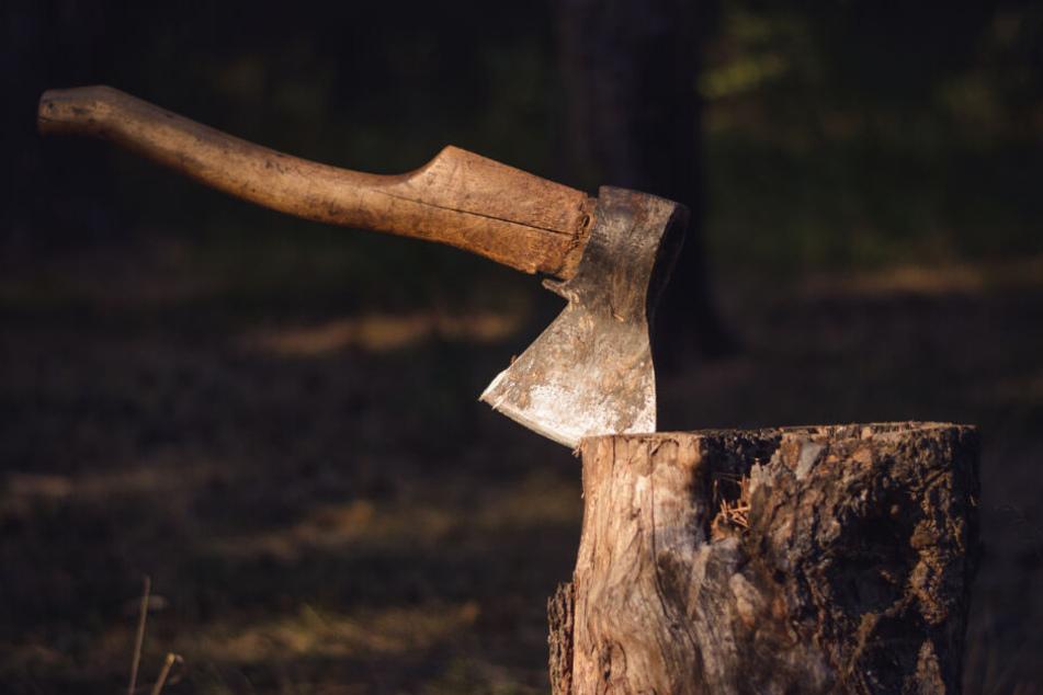 Der Mann gestand, seine Nachbarin mit einer Axt ermordet zu haben. (Symbolbild)