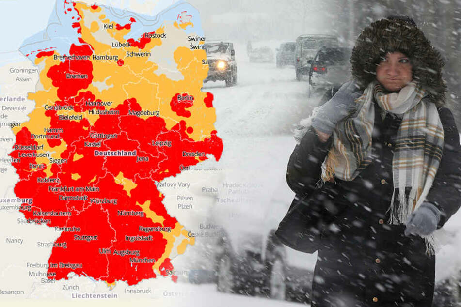 Schnee, Orkanböen und Gewitter: Schluss mit mildem Frühlingswetter!
