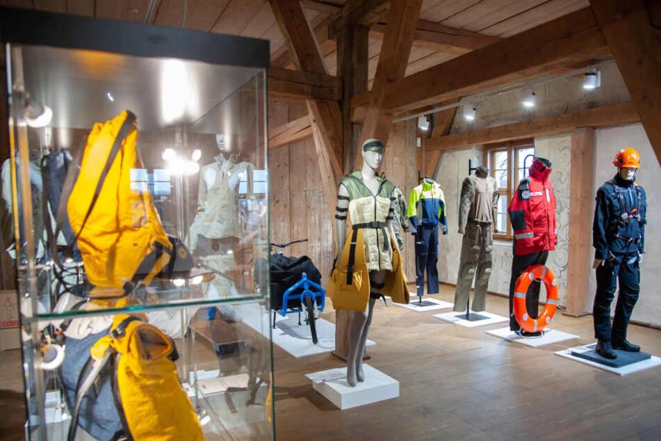 Insgesamt zeigen mehr als 90 Exponate Innovationen im Bereich Textil.