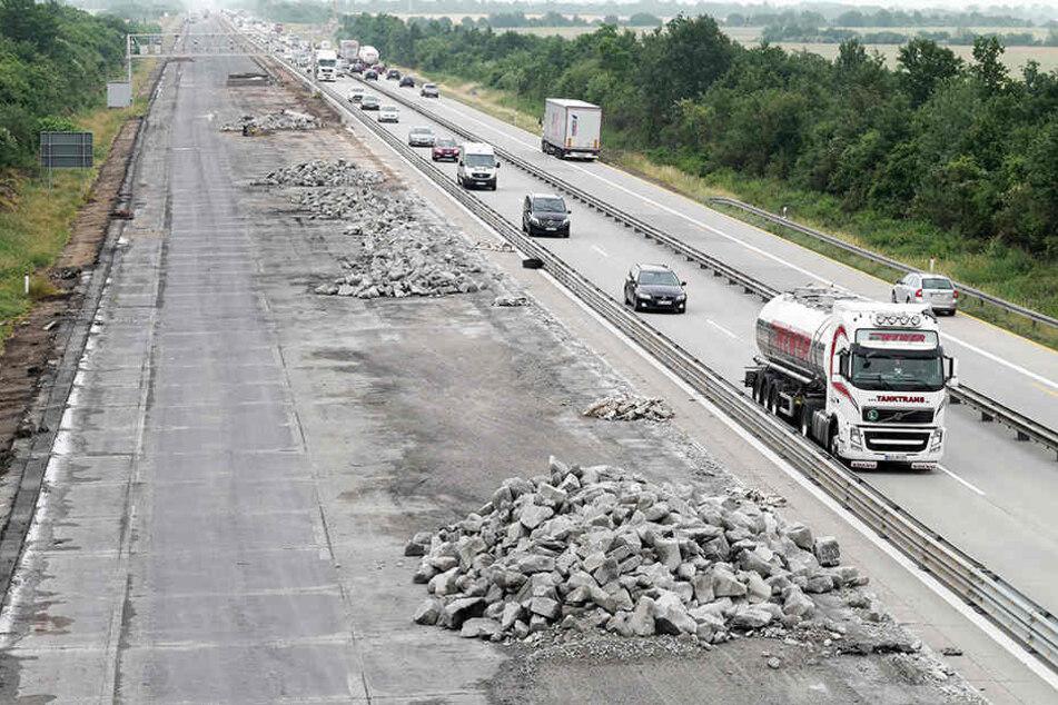 Bald wird es auf der A13 wieder so aussehen: BAUSTELLE! (Symbolbild).