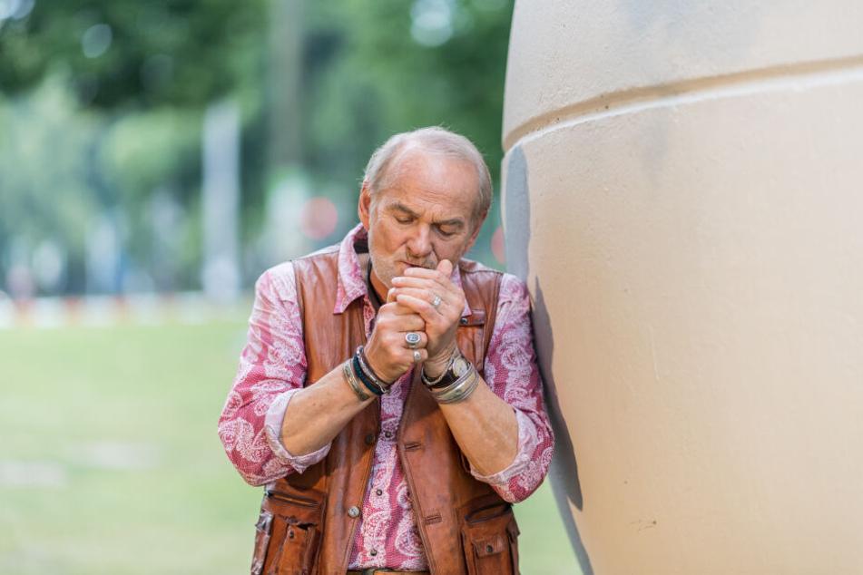 Claus Dieter Clausnitzer (80) will solange arbeiten, solange es ihm Spaß macht