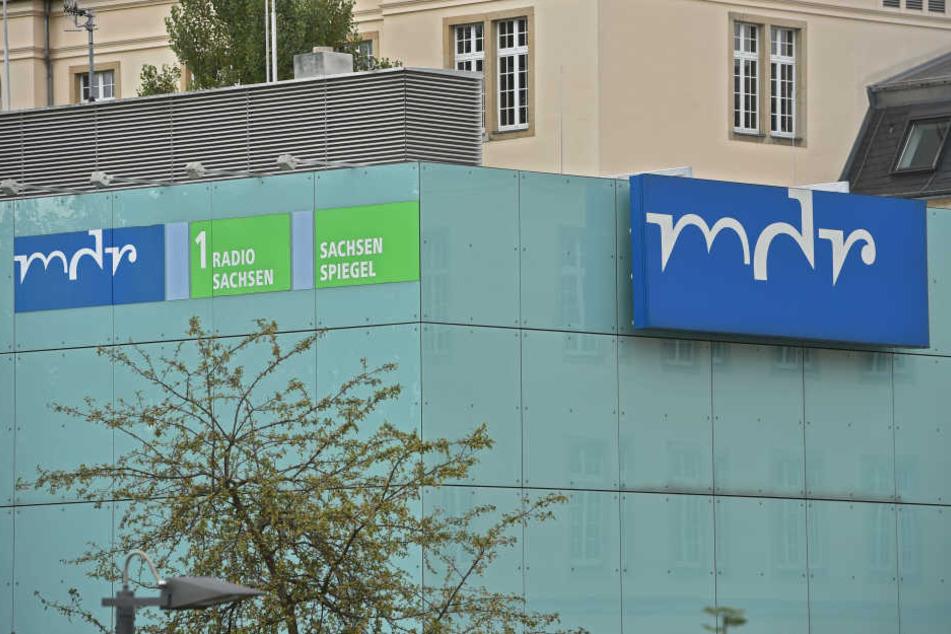 Das MDR-Funkhaus in Dresden: Der Sender wäre von einer UKW-Abschaltung am meisten betroffen.
