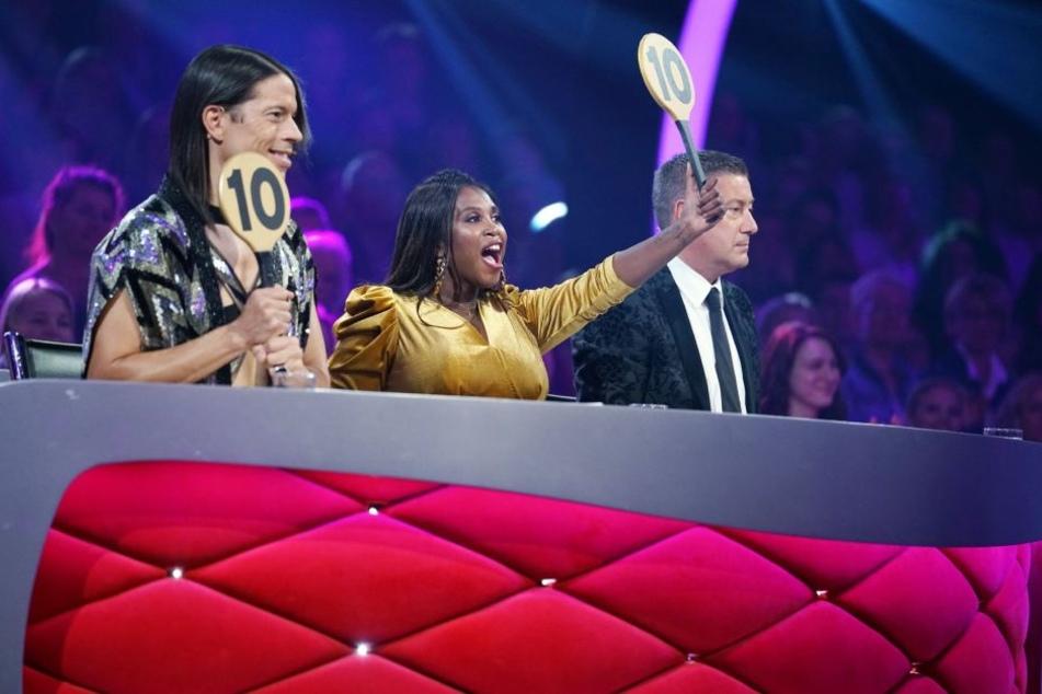 """Am Freitagabend hagelte es bei """"Let's Dance"""" Jury-Punkte."""