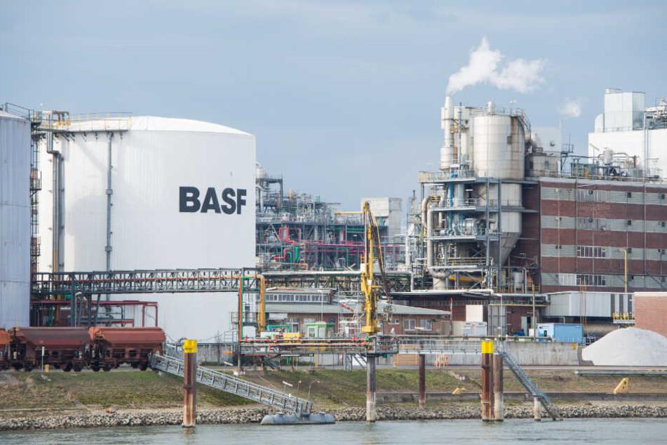 Rohr undicht: Hunderte Liter Chemikalien in Rhein gelaufen