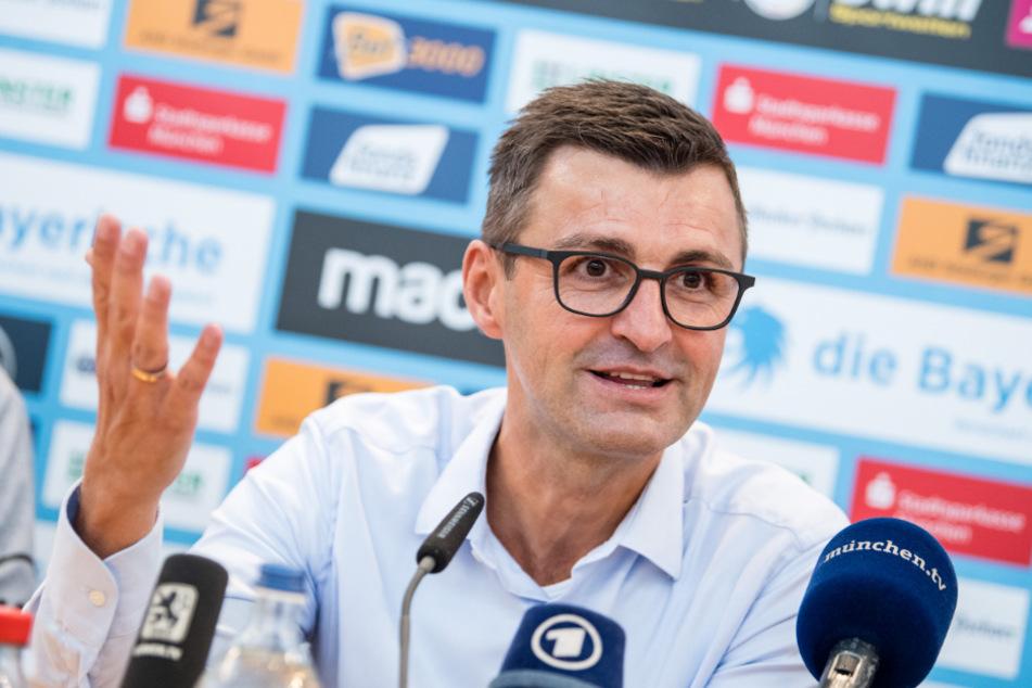 Michael Köllner machte seiner Mannschaft nach der Niederlage in Dresden keinen Vorwurf.