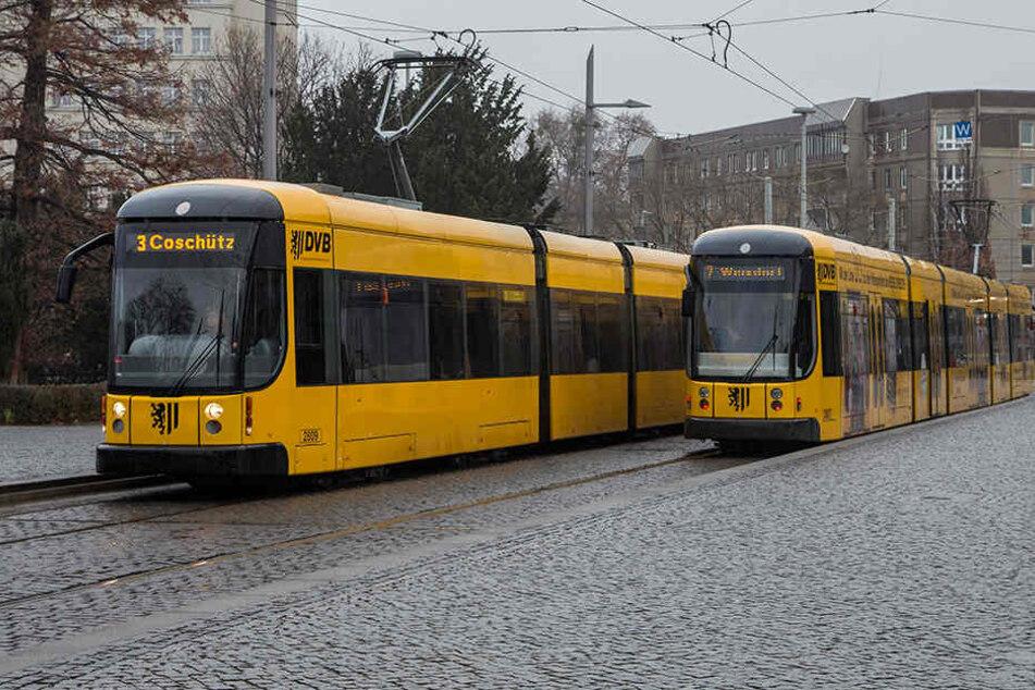 Beide stiegen am Albertplatz in eine Bahn ein.
