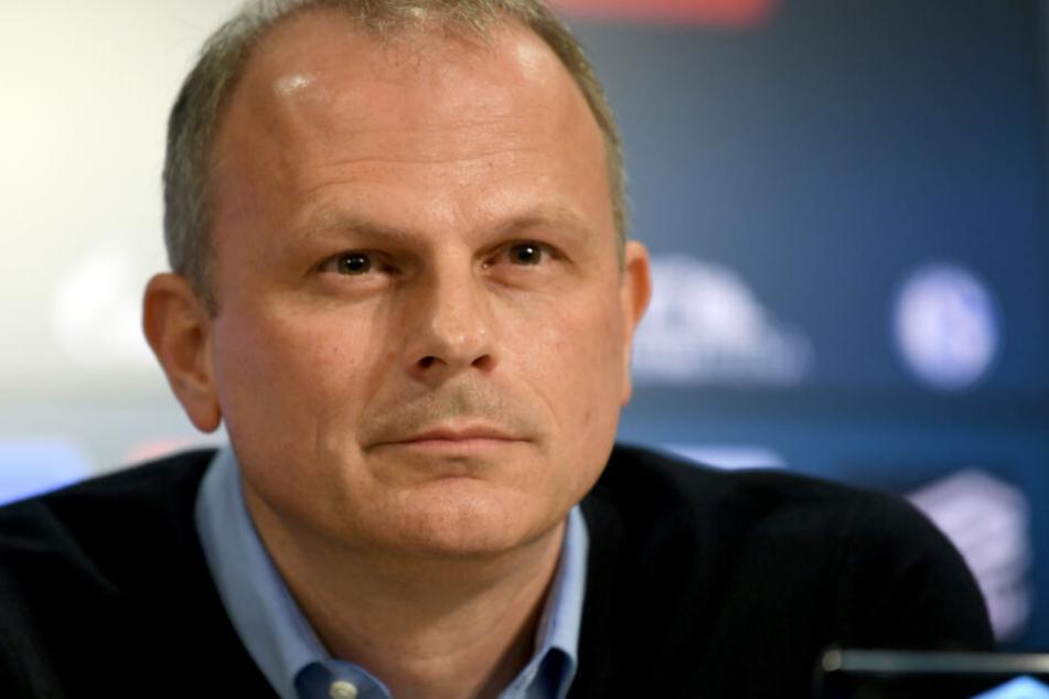 Ehemaliger VfB-Stuttgart-Sportdirektor steht aktuell bei Schalke 04 in der Verantwortung: Jochen Schneider.