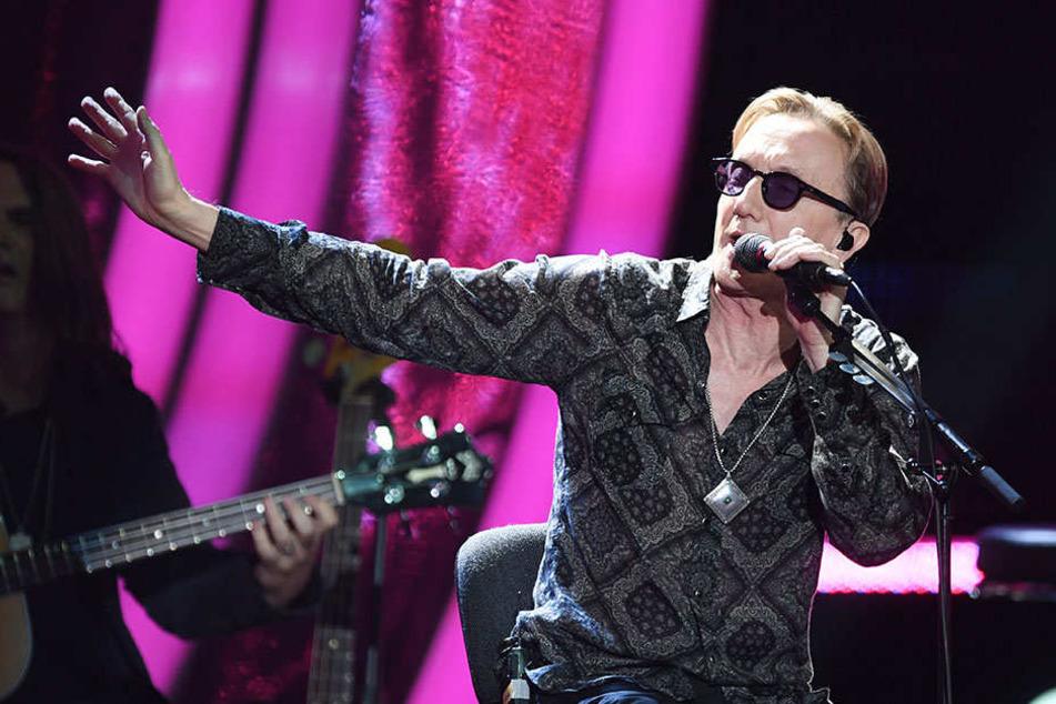 Wegen schwerer Grippe | Westernhagen sagt Konzerte ab