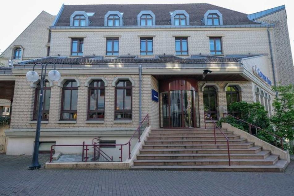 Das Hotel in der Bielefelder Altstadt wurde am Wochenende Schauplatz eines mutmaßlichen Suizids.