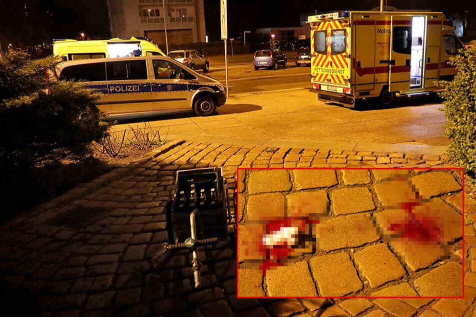 Brutale Schlägereien in Chemnitzer Innenstadt: Mehrere Verletzte
