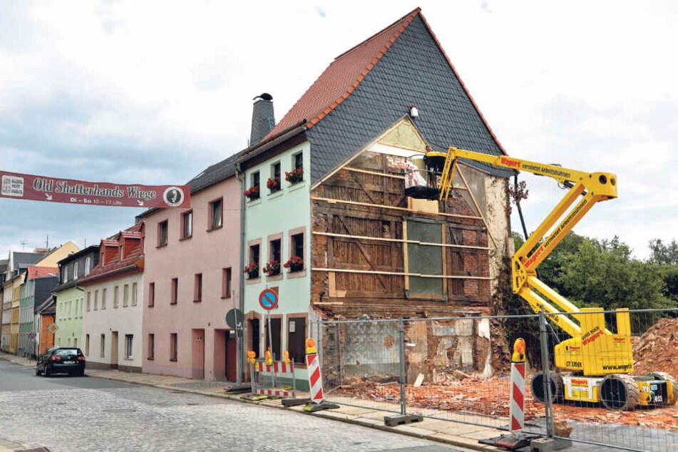 Chemnitz: Karl Mays Geburtshaus steht auf wackligen Füßen