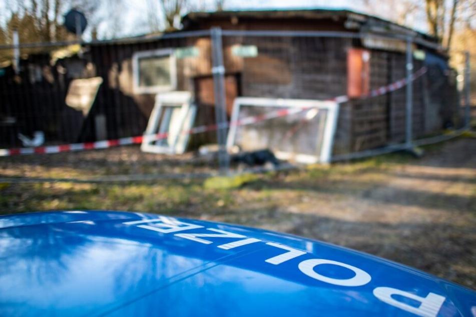 Die Hütte des Hauptverdächtigen ist nun abgerissen worden.