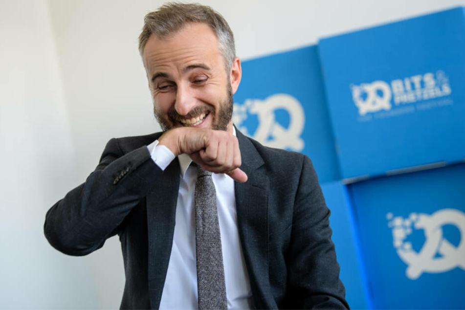 Jetzt hat Jan Böhmermann gut lachen.