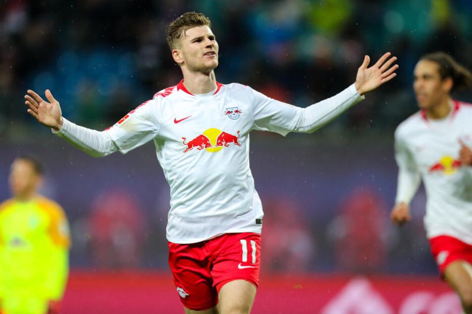 Einladung zum Torerfolg: Timo Werner traf bereits sechsmal gegen Hertha BSC.