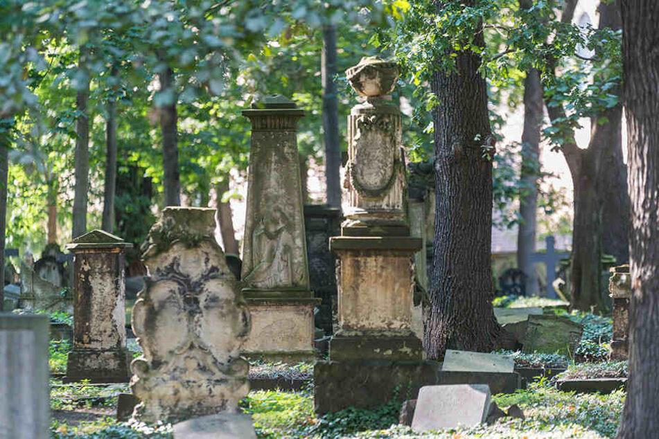 Auch der Eliasfriedhof öffnet zum Denkmaltag am Sonntag.