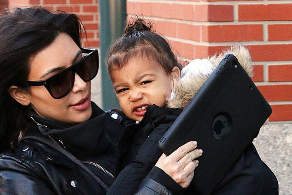 Kim Kardashians Tochter North steht schon seit ihrer Geburt im Rampenlicht. (Archivbild)