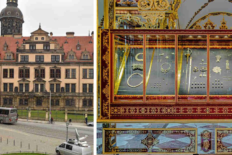 Juwelen-Raub in Dresden: Trifft den Vitrinen-Hersteller eine Schuld?