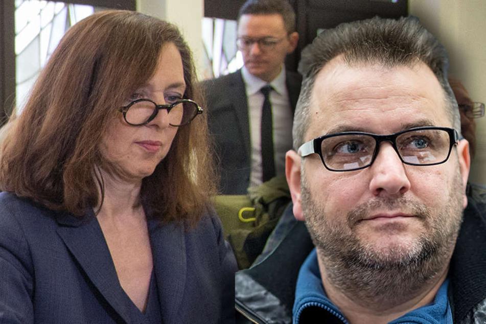 Nahlah Saimeh (links) übernahm das Gutachten von Wilfried W. (rechts).
