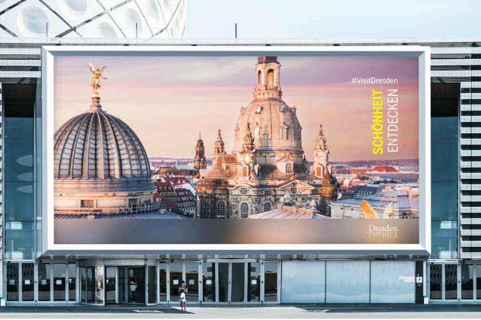 Die Schönheit Dresdens ist nun Kernelement der Werbung für die Stadt.