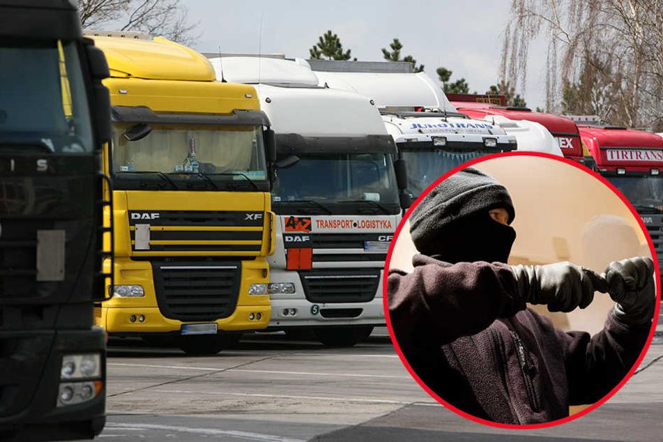 Zwölf Handys und zwei Tablets klaute der 46-jährige Lkw-Fahrer.