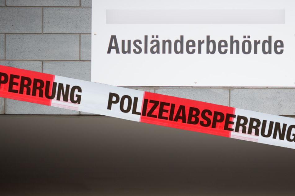 Asylbewerber (19) rastet in sächsischem Landratsamt komplett aus