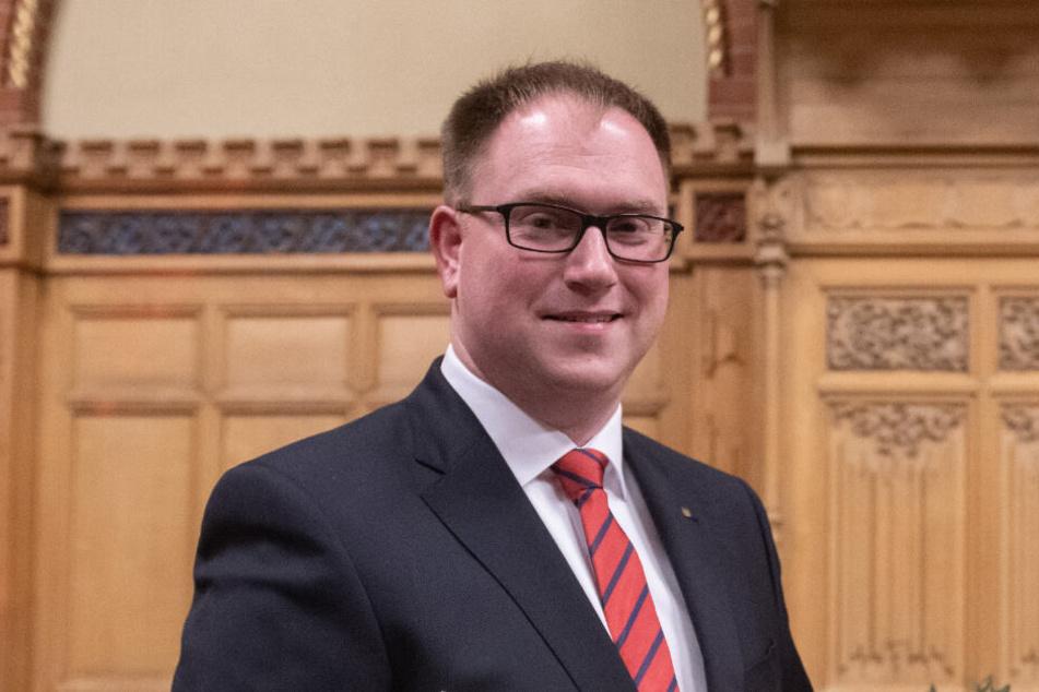 Jan Lindenau ist seit April 2018 Bürgermeister von Lübeck. (Archivbild)