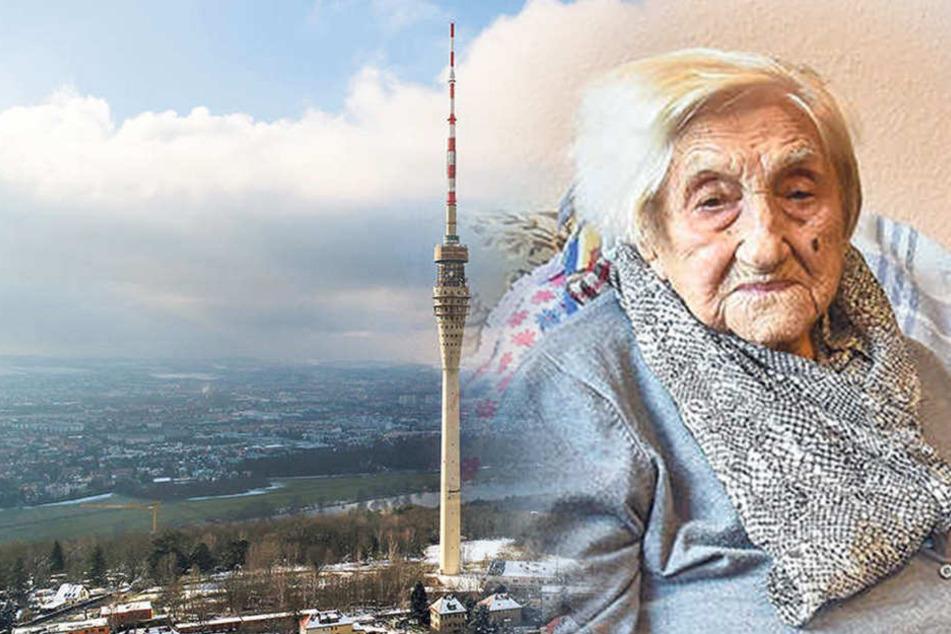 Ihr letzter Wunsch: Älteste Dresdnerin will Fernsehturm wieder offen sehen!